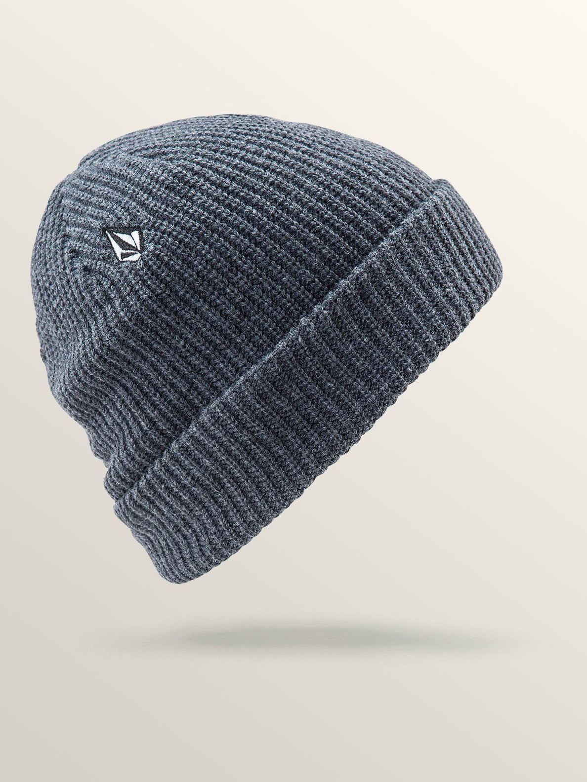 Full Stone Beanie - CHARCOAL HEATHER