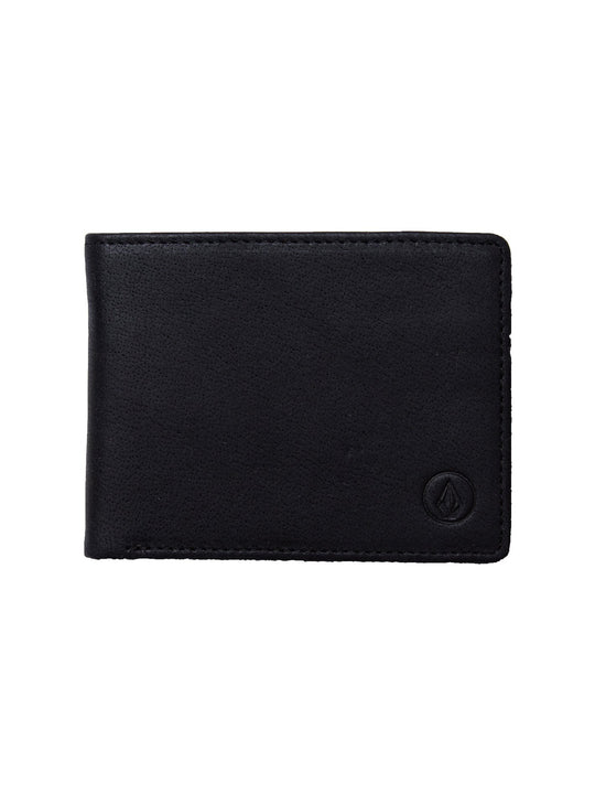 Portemonnaie Volcom Leather - Black