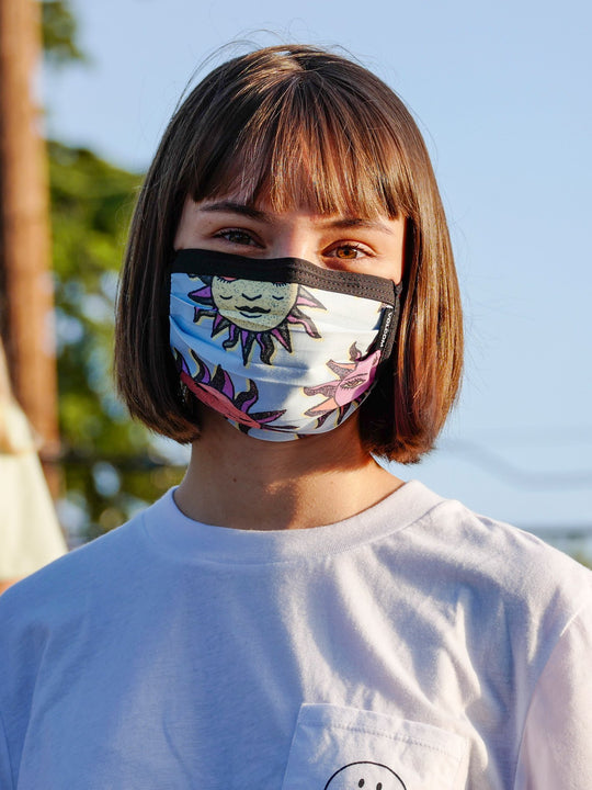 Volcom Assorted Face Mask - Aether Blue (Pre-Order) (D6702008_AEB) [B]