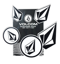 5-er Volcom Sticker Pack