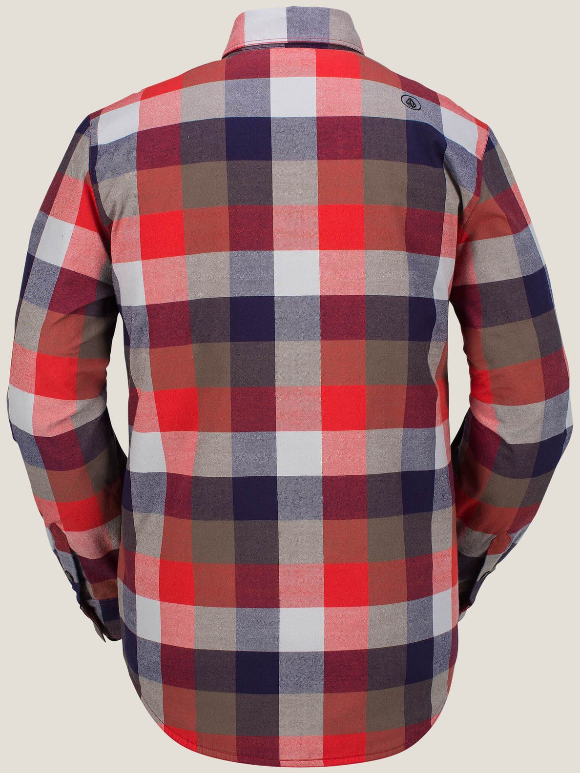 Flanellhemd Simons Ins - Fire Red