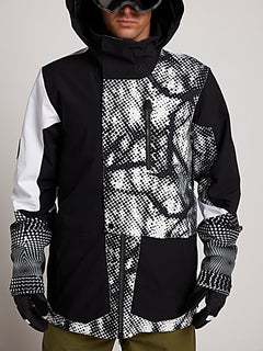 Bl Stretch Gore Jacke - Black White