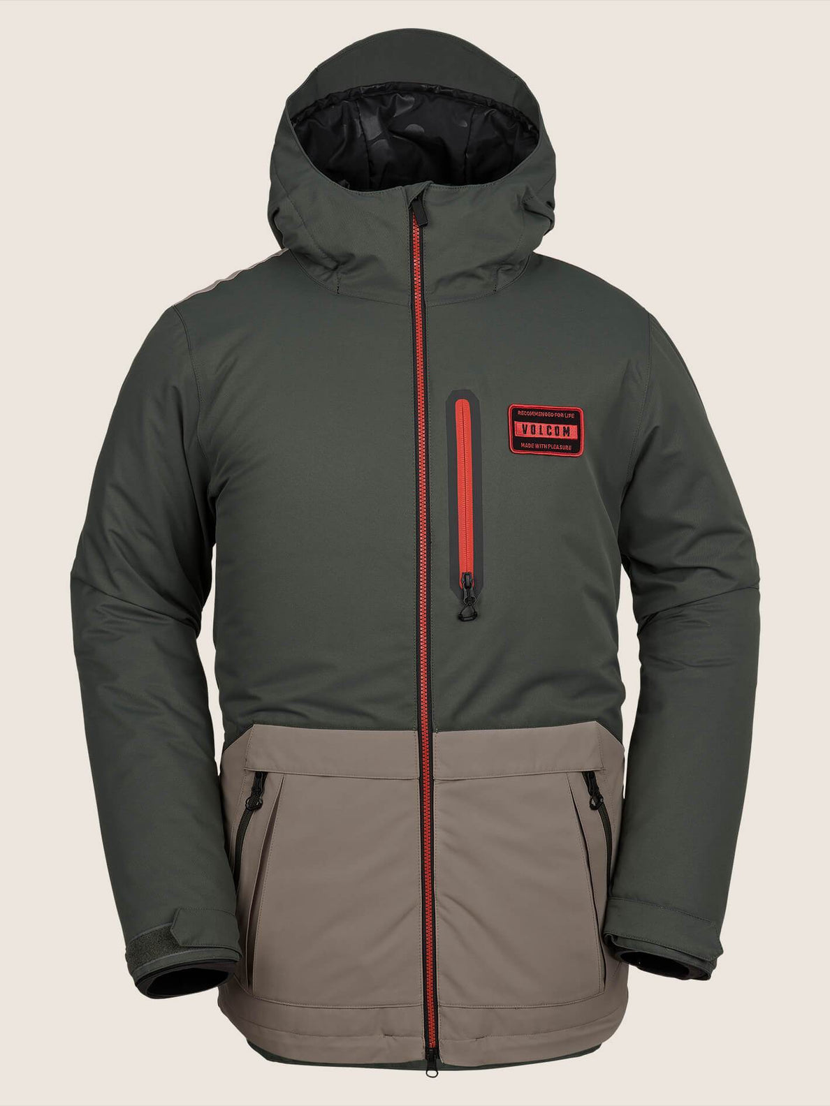 Analyzer Jacke - Black Green