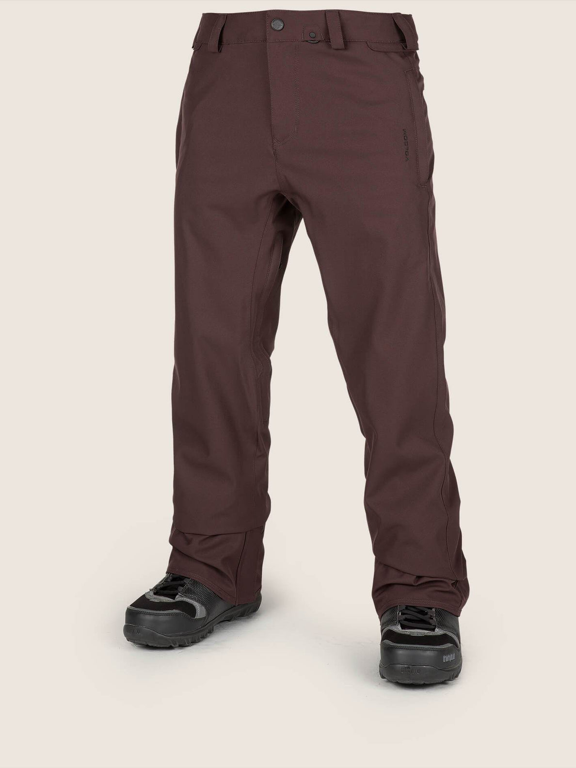 Freakin Snow Chino Snowboardhose - Black Red