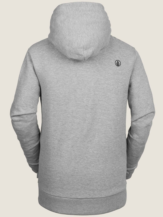 Stone Terry Sweatshirt - Heather Grey