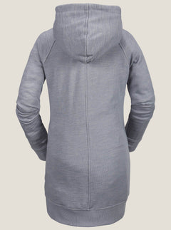 Fleecepullover Costus - Heather Grey