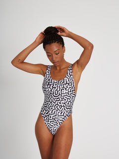 Coral Morph 1 piece Swimsuit - Multi (O3012104_MLT) [6]