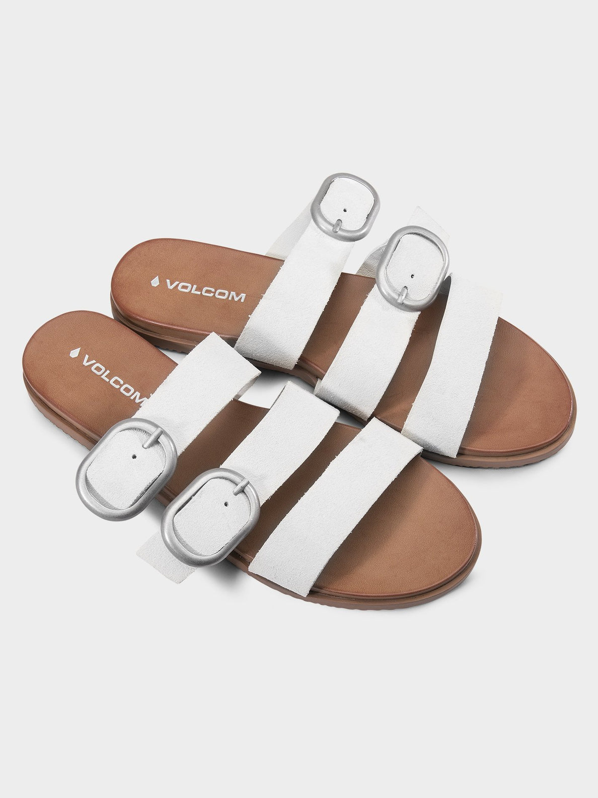Buckle Up Sandalen - Bone