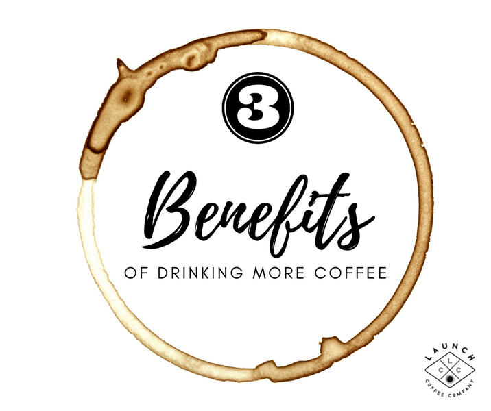 3 Amazing Health Benefits of Drinking More Coffee