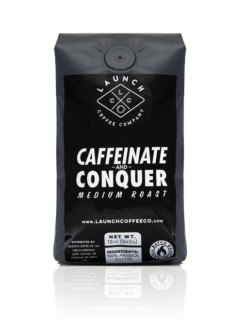Caffeinate and Conquer Medium Roast