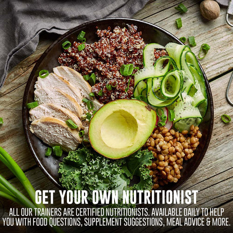 Get a Real Human Online Nutritionist + Personal Trainer