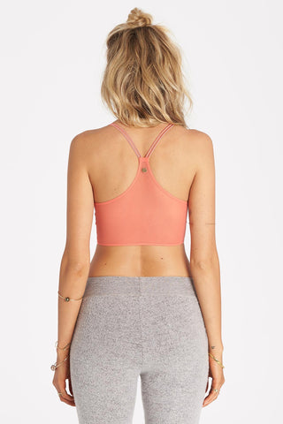 Billabong - Livin Free Camisole | Spiced Coral - The Girl and The Water - 3