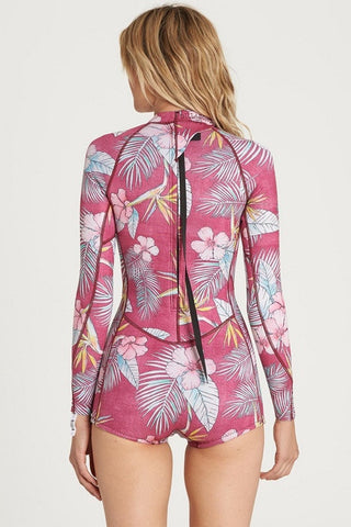 Billabong - Mas Tropical Spring Fever Springsuit | Sangria