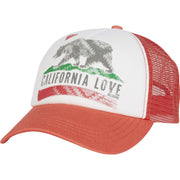 Billabong - Pitstop Trucker Hat | Spiced Coral - The Girl and The Water - 1