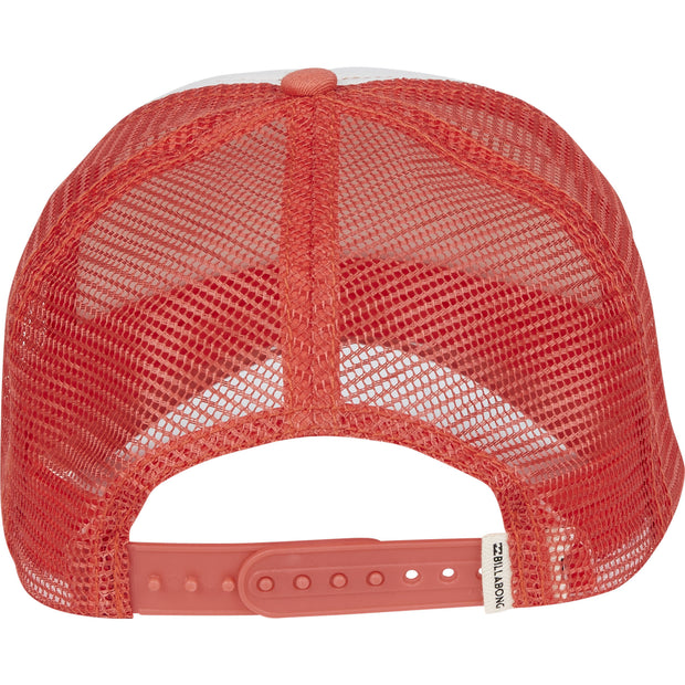 Billabong - Pitstop Trucker Hat | Spiced Coral - The Girl and The Water - 2