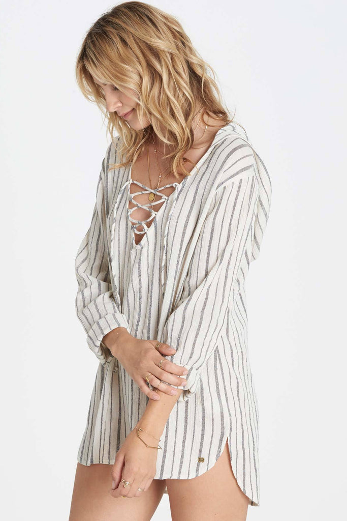 Billabong - Same Story Hooded Cover Up | Cool Whip