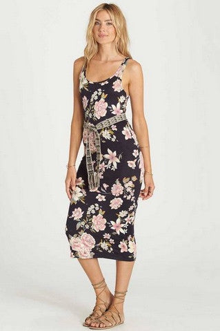Billabong - Share Joy Dress | Off Black