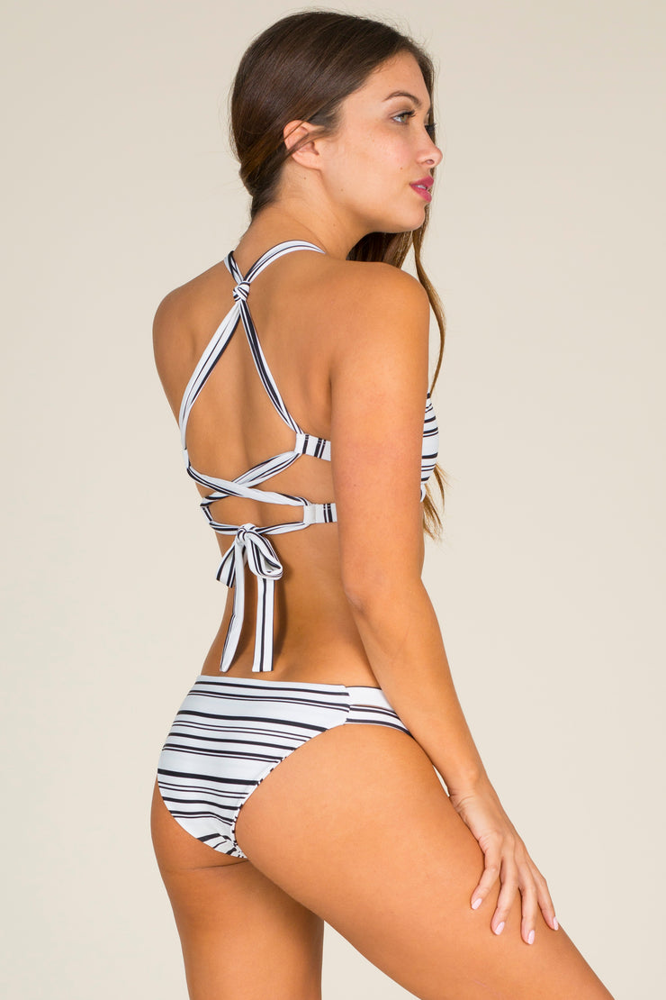 Citrine - Lily Bottom | Vintage Stripe