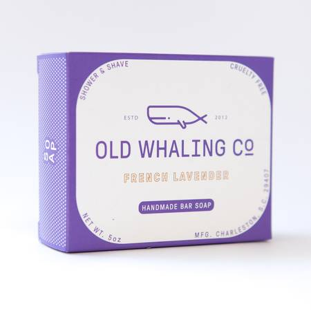 Old Whaling Co. - French Lavender Bar Soap
