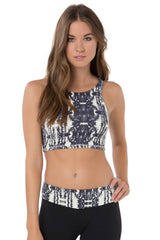 O'Neill - Vamp Cropped Halter | White - The Girl and The Water - 1