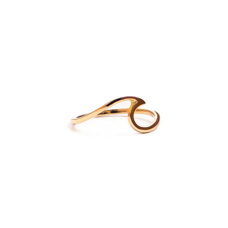 Pura Vida - Wave Ring | Gold