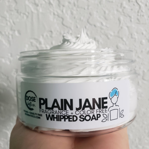 Plain Jane Products (Fragrance/Color Free)