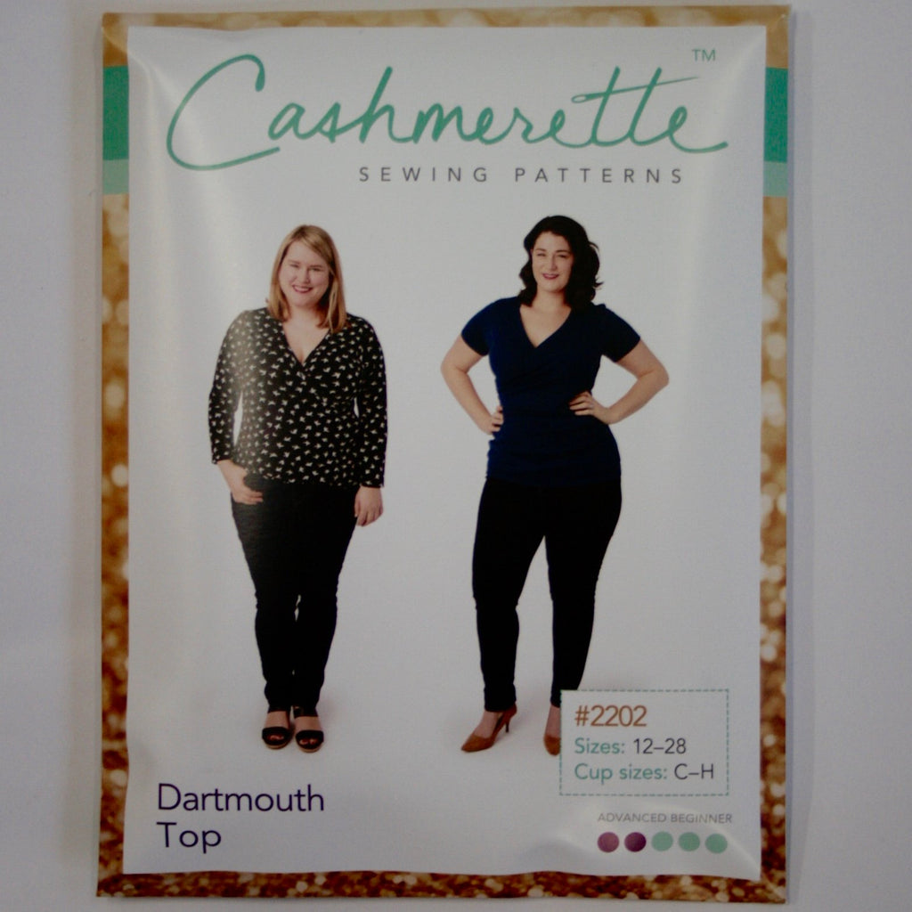 Cashmerette Dartmouth Top pattern