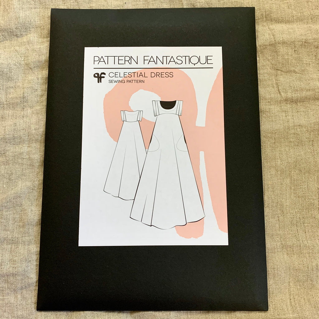 Celestial Dress pattern by Pattern Fantastique
