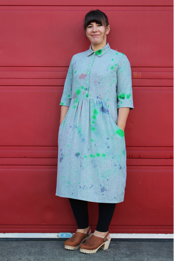 Isca Shirtdress pattern by Marilla Walker