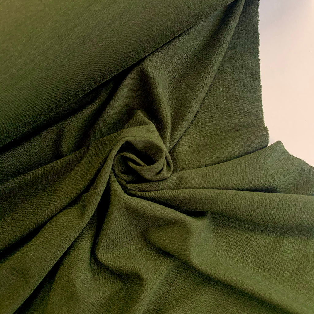 100% Merino jersey, Australian grown and made, 200gsm - Plantation