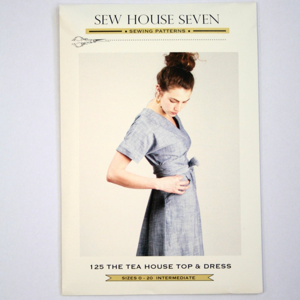 Teahouse Dress & Top pattern by Sew House Seven