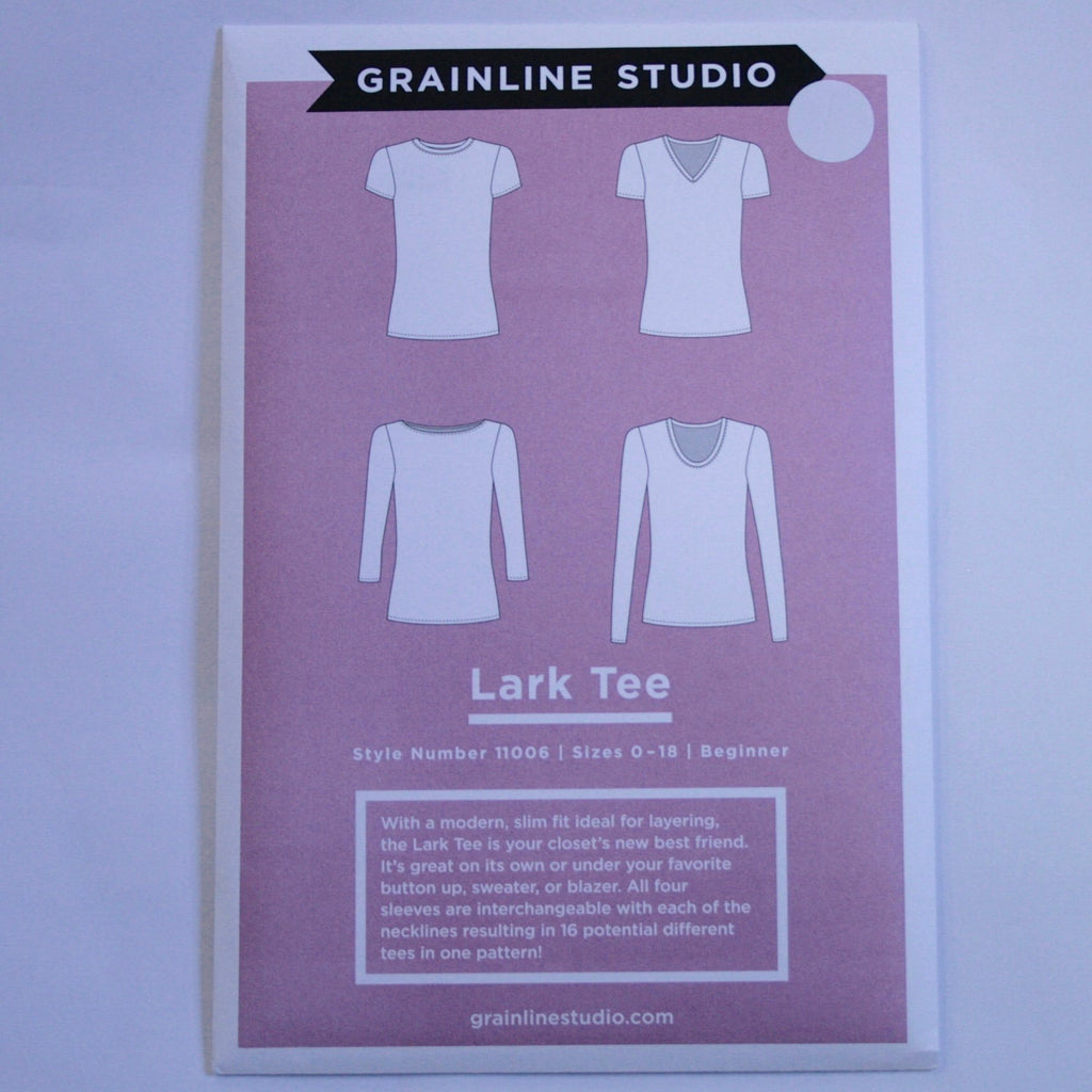 Grainline Lark T-shirt pattern
