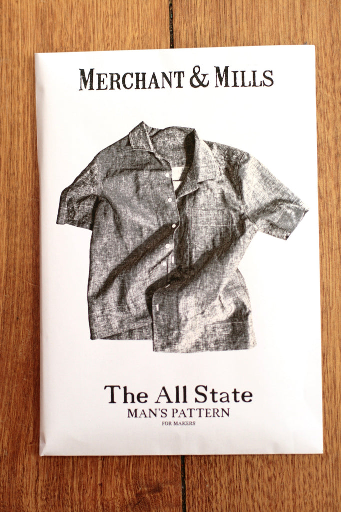 Merchant & Mills - The All State men's shirt pattern