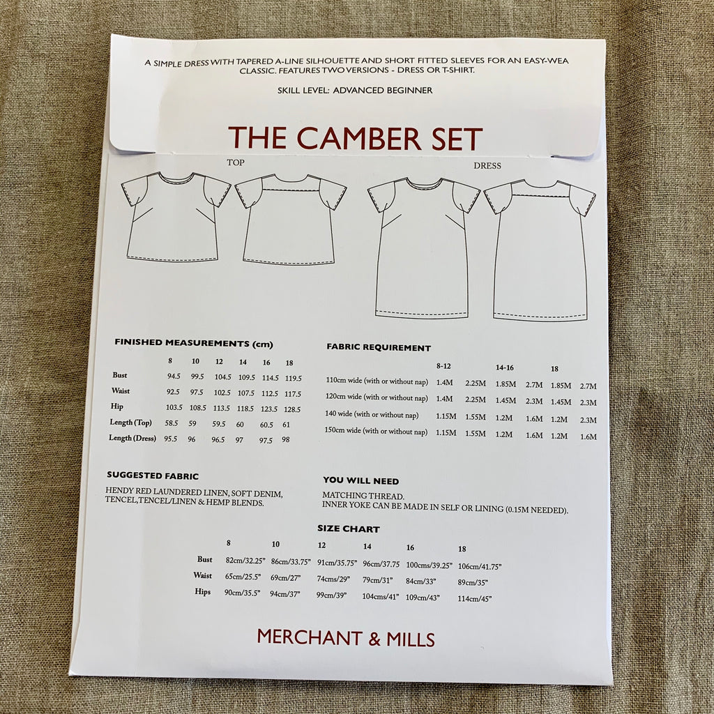 Merchant & Mills - The Camber Set