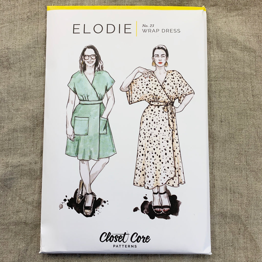 Elodie Wrap Dress pattern - Closet Core Patterns