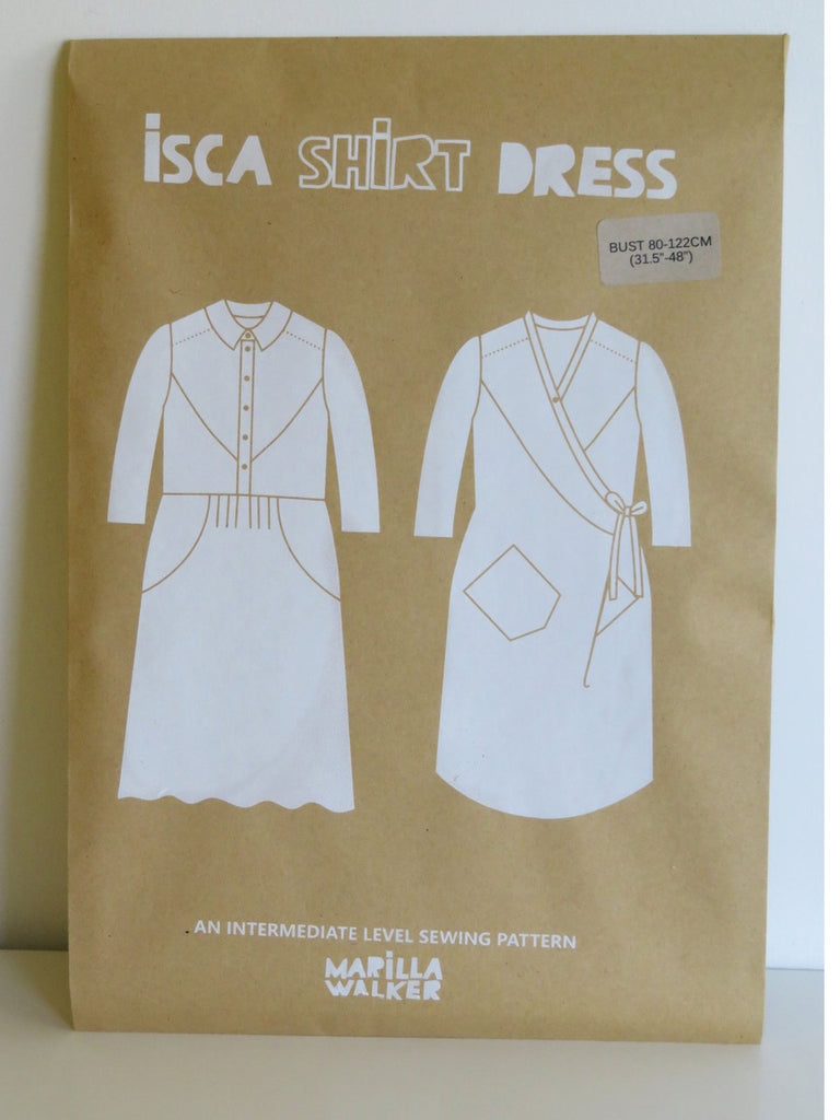 PRE-ORDER Isca Shirtdress pattern by Marilla Walker