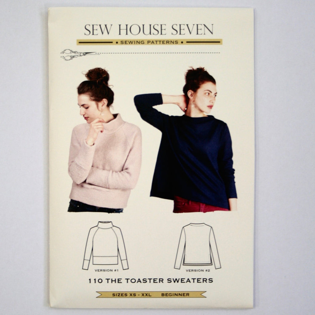 Toaster Sweater pattern by Sew House Seven