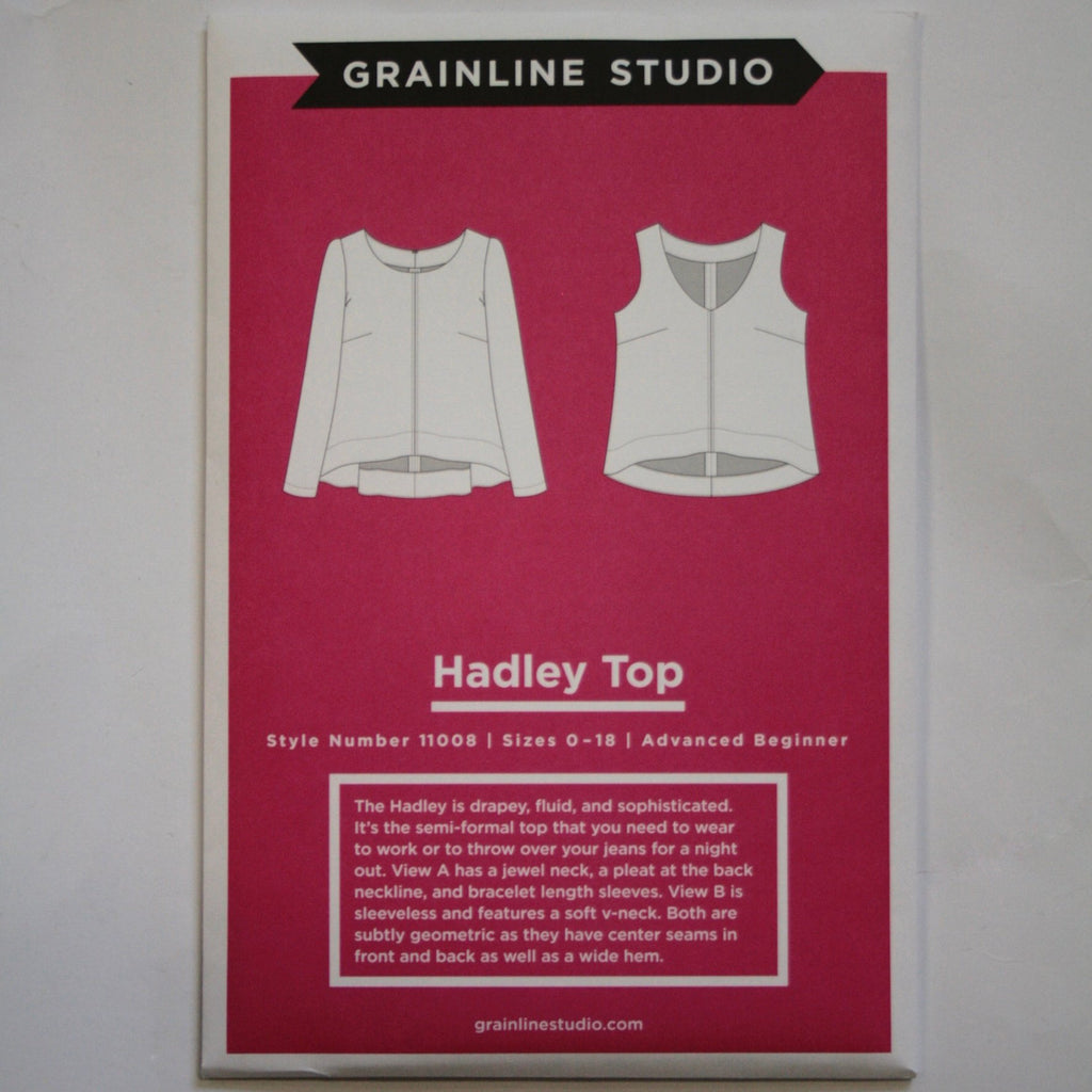 Grainline Hadley Top