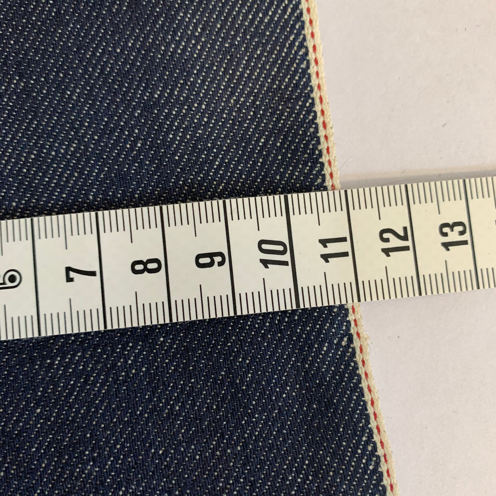 Lindigo Stretch Selvedge Denim 67% Cotton 26% Linen