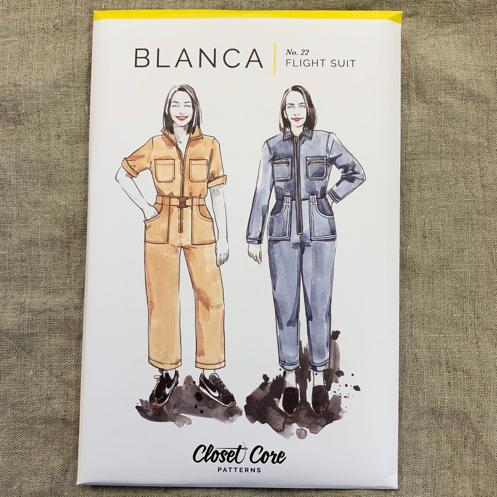 Blanca Flight Suit pattern - Closet Core Patterns