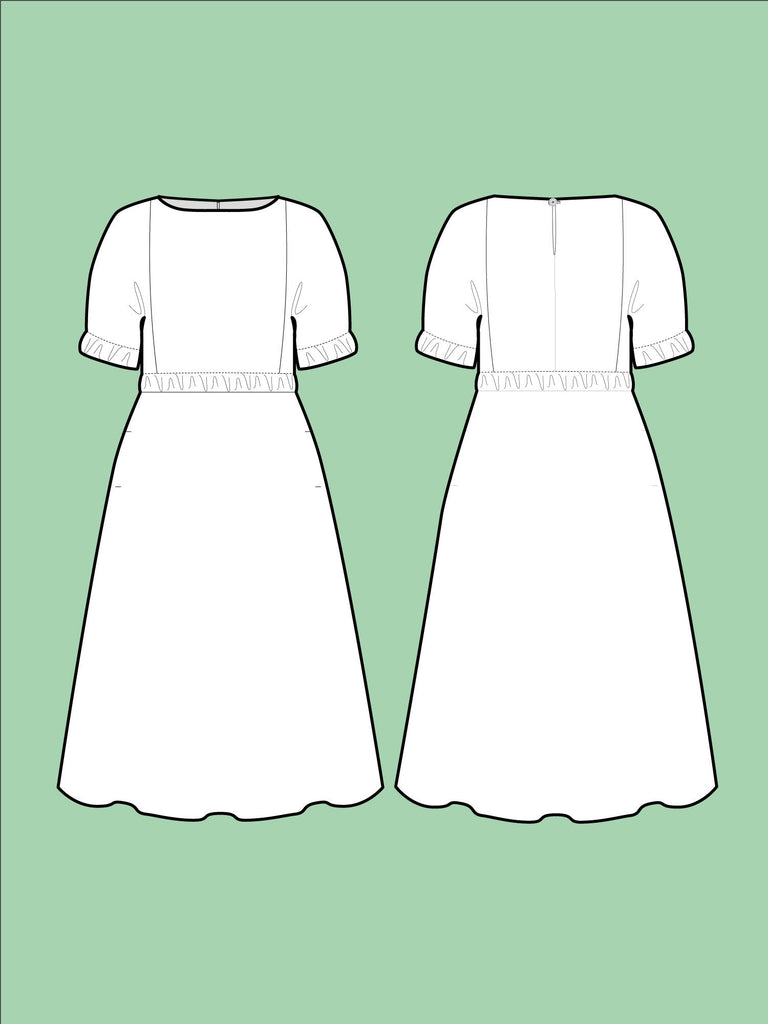 Cuff Dress pattern - The Assembly Line