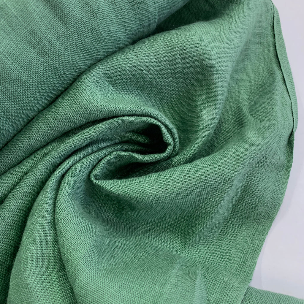 100% linen, washed/softened - Bluemint