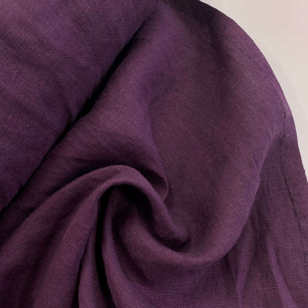 100% linen, washed/softened - Kohlrabi
