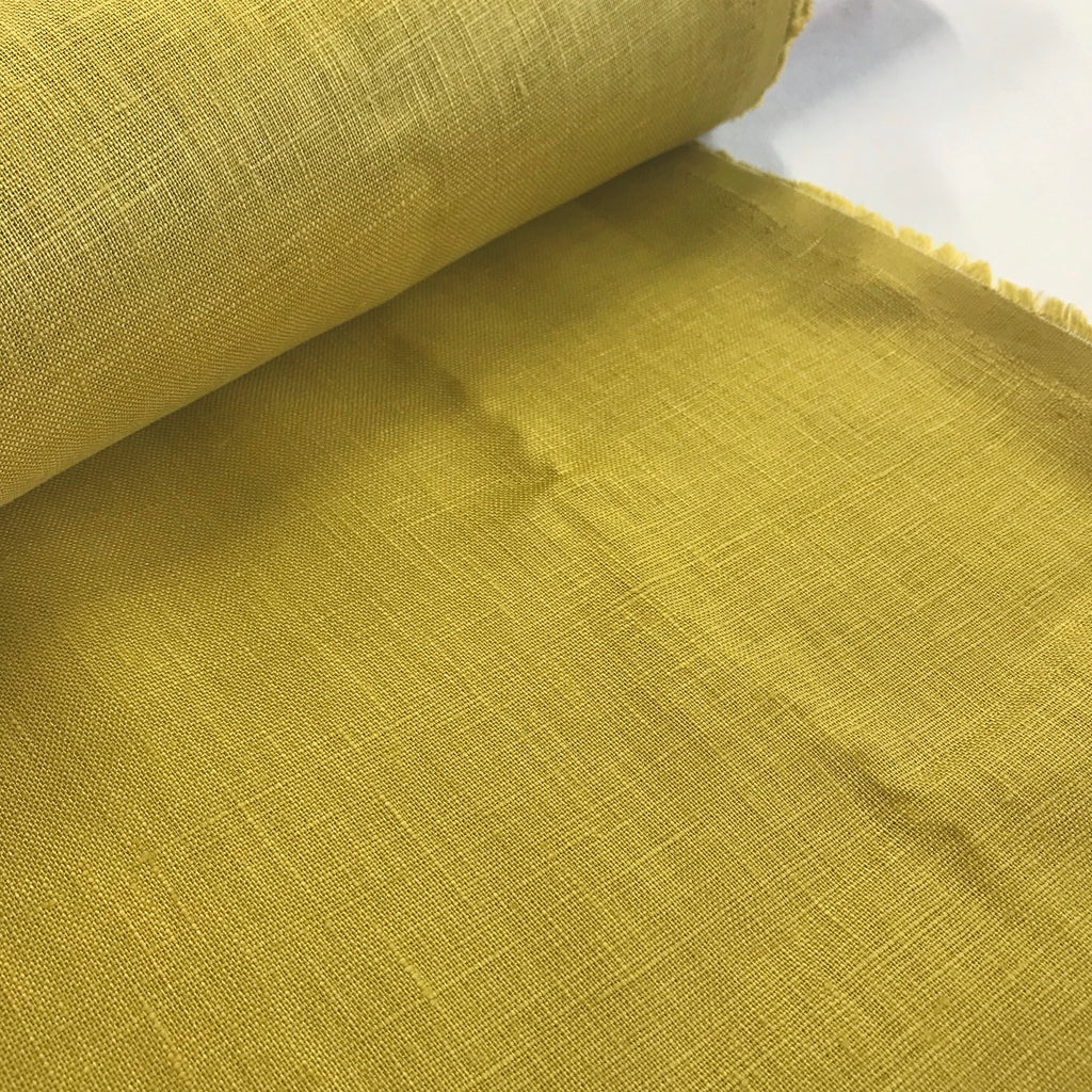 100% linen, light weight 190gsm - Pear