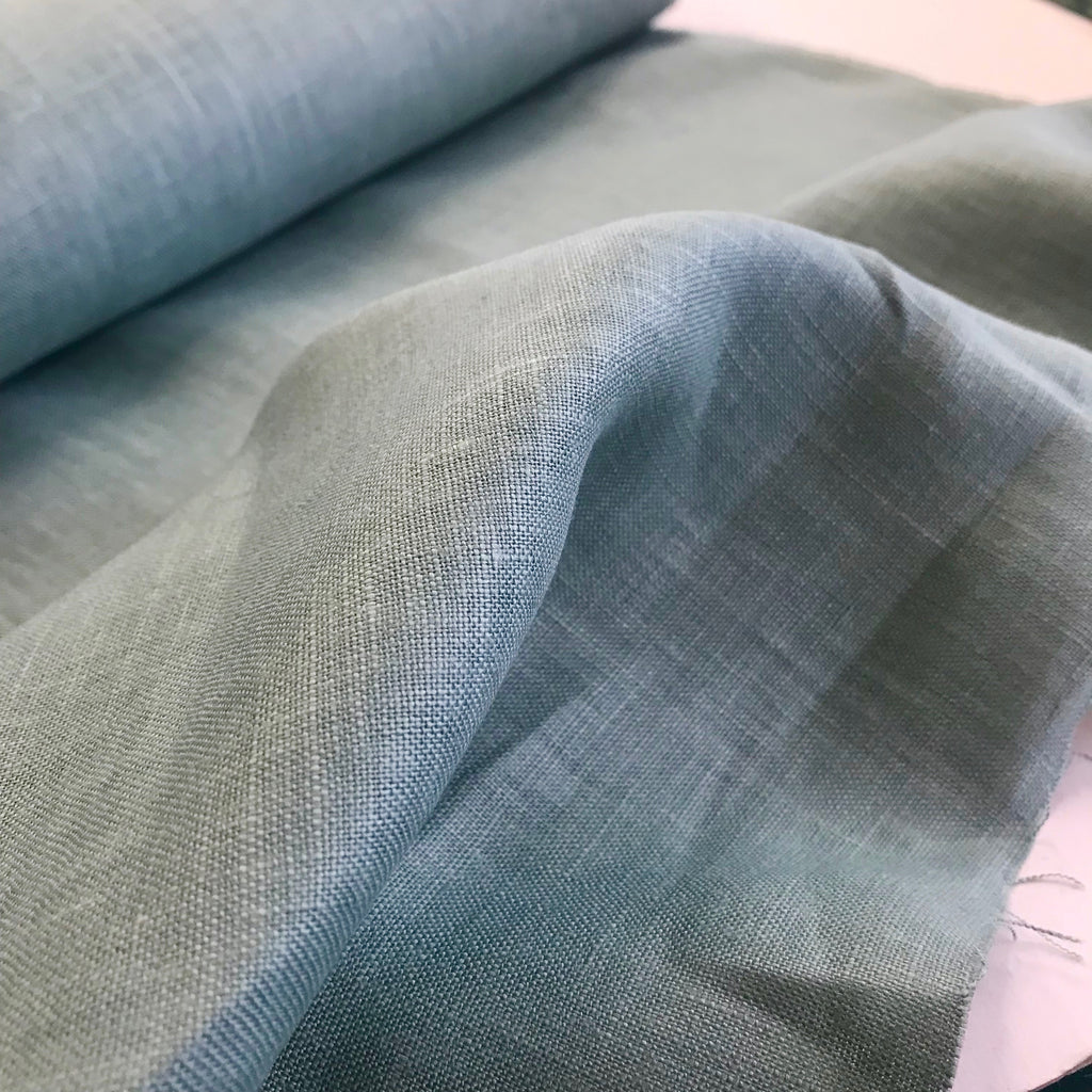 100% linen, light weight 190gsm - Mist