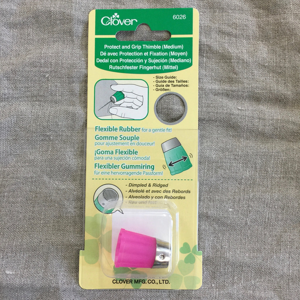 Clover Protect and Grip flexible thimble