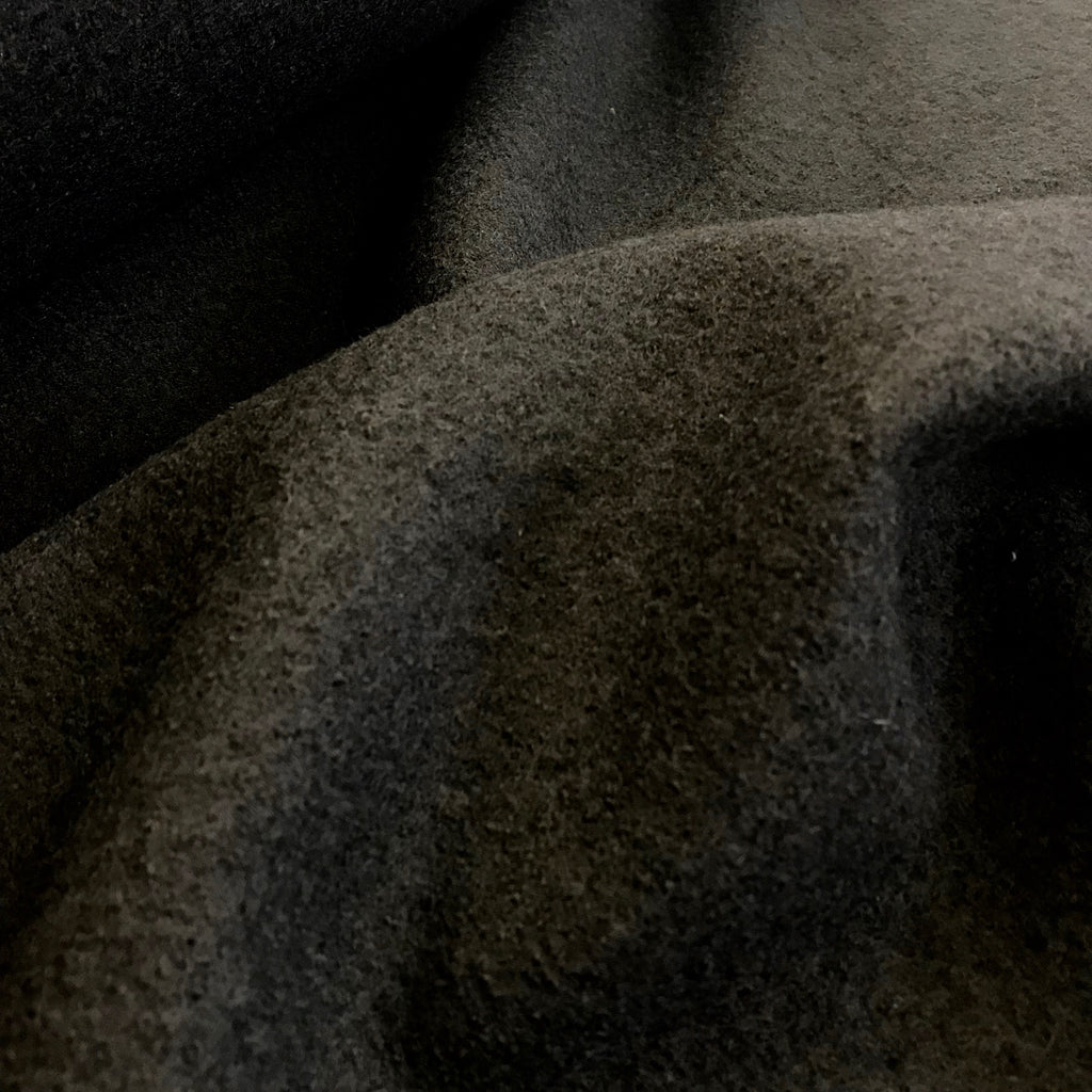 Boiled Wool - 100% wool, Black