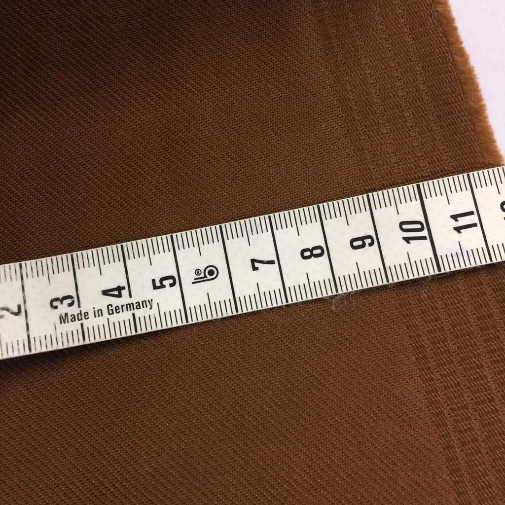 Japanese Heavy Stretch Twill - Walnut