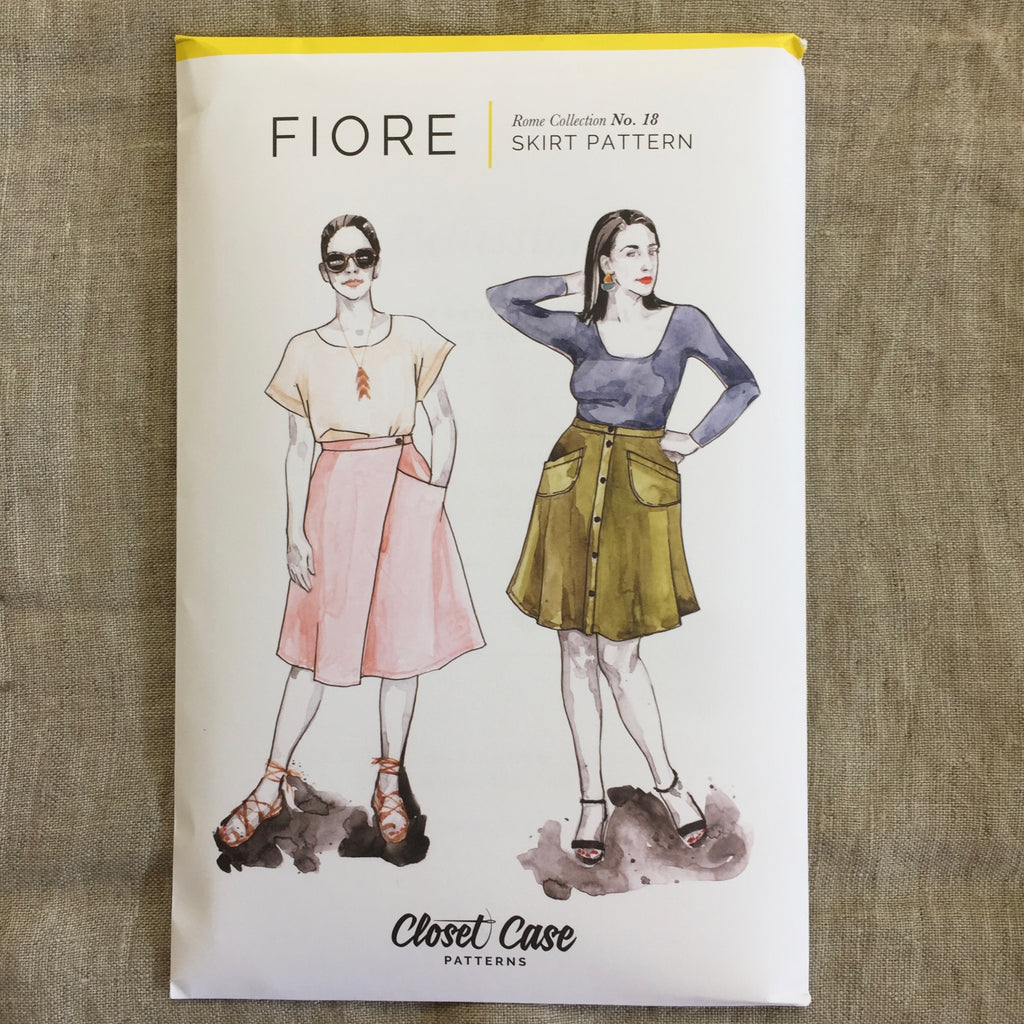 Closet Case Patterns - Fiore Skirt