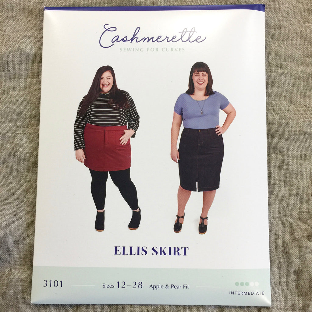 Cashmerette Patterns Ellis Skirt